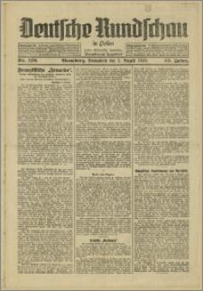 Deutsche Rundschau in Polen. J. 53, 1929, nr 176