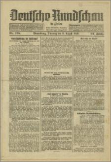 Deutsche Rundschau in Polen. J. 53, 1929, nr 178