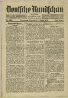 Deutsche Rundschau in Polen. J. 53, 1929, nr 179