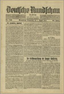 Deutsche Rundschau in Polen. J. 53, 1929, nr 180