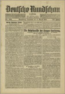 Deutsche Rundschau in Polen. J. 53, 1929, nr 182