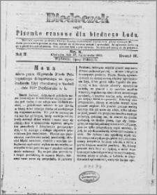 Biedaczek : czyli mały i tani tygodnik dla biednego ludu, 1849.10.27 R. 2 nr 8