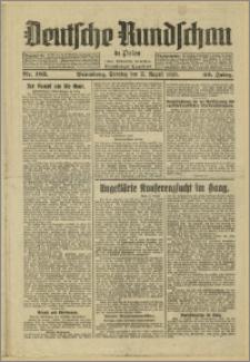 Deutsche Rundschau in Polen. J. 53, 1929, nr 183