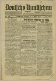 Deutsche Rundschau in Polen. J. 53, 1929, nr 187