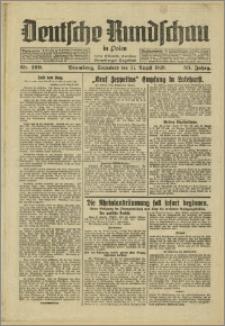 Deutsche Rundschau in Polen. J. 53, 1929, nr 199