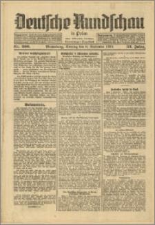 Deutsche Rundschau in Polen. J. 53, 1929, nr 206