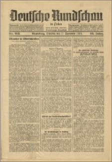Deutsche Rundschau in Polen. J. 53, 1929, nr 213