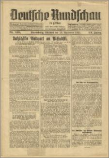 Deutsche Rundschau in Polen. J. 53, 1929, nr 220
