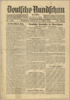 Deutsche Rundschau in Polen. J. 53, 1929, nr 243