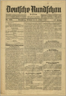 Deutsche Rundschau in Polen. J. 53, 1929, nr 250