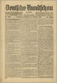Deutsche Rundschau in Polen. J. 53, 1929, nr 254