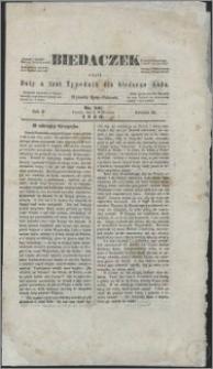 Biedaczek : czyli mały i tani tygodnik dla biednego ludu, 1849.09.07 R. 2 nr 10