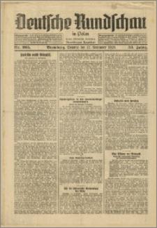 Deutsche Rundschau in Polen. J. 53, 1929, nr 265