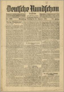 Deutsche Rundschau in Polen. J. 53, 1929, nr 272
