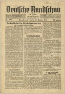 Deutsche Rundschau in Polen. J. 53, 1929, nr 275