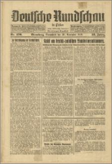 Deutsche Rundschau in Polen. J. 53, 1929, nr 276