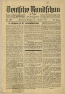 Deutsche Rundschau in Polen. J. 53, 1929, nr 279
