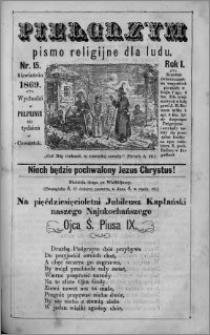 Pielgrzym, pismo religijne dla ludu 1869 rok I nr 15