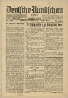 Deutsche Rundschau in Polen. J. 53, 1929, nr 285