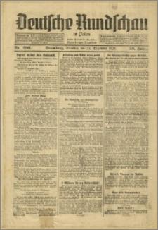 Deutsche Rundschau in Polen. J. 53, 1929, nr 296