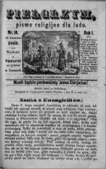 Pielgrzym, pismo religijne dla ludu 1869 rok I nr 16