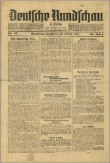 Deutsche Rundschau in Polen. J. 54, 1930, nr 45