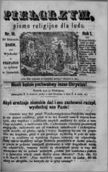 Pielgrzym, pismo religijne dla ludu 1869 rok I nr 18