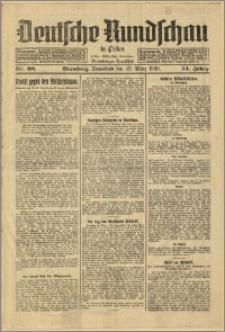 Deutsche Rundschau in Polen. J. 54, 1930, nr 68