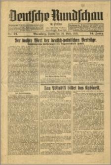 Deutsche Rundschau in Polen. J. 54, 1930, nr 73