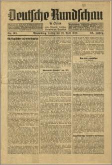 Deutsche Rundschau in Polen. J. 54, 1930, nr 95