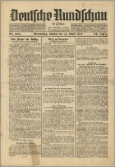 Deutsche Rundschau in Polen. J. 54, 1930, nr 194