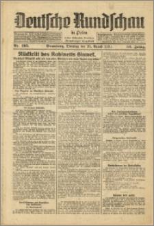 Deutsche Rundschau in Polen. J. 54, 1930, nr 195