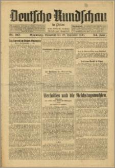 Deutsche Rundschau in Polen. J. 54, 1930, nr 217