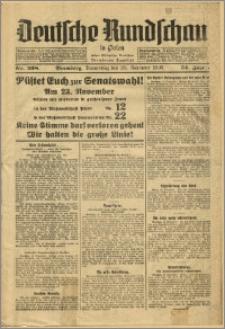 Deutsche Rundschau in Polen. J. 54, 1930, nr 268