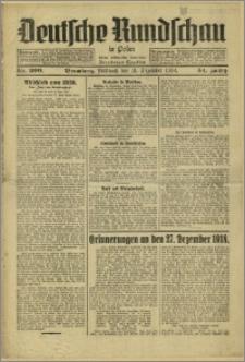 Deutsche Rundschau in Polen. J. 54, 1930, nr 300