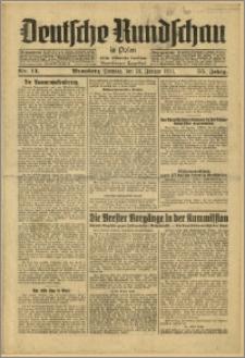Deutsche Rundschau in Polen. J. 55, 1931, nr 14