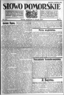 Słowo Pomorskie 1921.08.02 R.1 nr 173