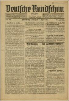 Deutsche Rundschau in Polen. J. 55, 1931, nr 77