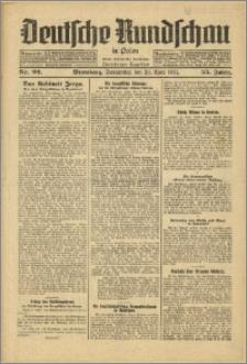 Deutsche Rundschau in Polen. J. 55, 1931, nr 92