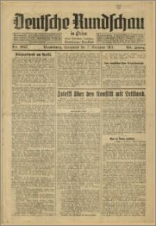Deutsche Rundschau in Polen. J. 55, 1931, nr 257
