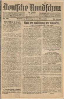 Deutsche Rundschau in Polen. J. 56, 1932, nr 69