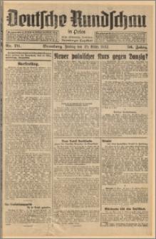 Deutsche Rundschau in Polen. J. 56, 1932, nr 70