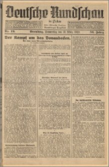 Deutsche Rundschau in Polen. J. 56, 1932, nr 73