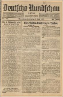 Deutsche Rundschau in Polen. J. 56, 1932, nr 80