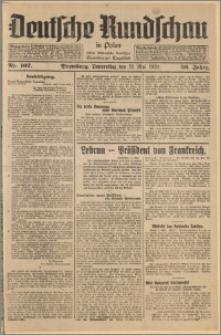 Deutsche Rundschau in Polen. J. 56, 1932, nr 107
