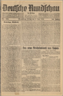 Deutsche Rundschau in Polen. J. 56, 1932, nr 124