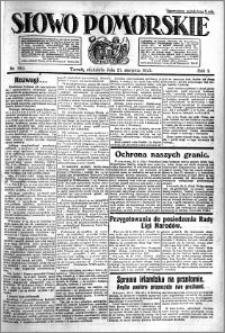 Słowo Pomorskie 1921.08.21 R.1 nr 189