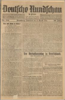 Deutsche Rundschau in Polen. J. 56, 1932, nr 184