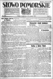 Słowo Pomorskie 1921.08.23 R.1 nr 190