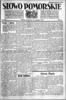 Słowo Pomorskie 1921.08.24 R.1 nr 191